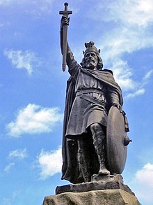 Alfred the Great, Image from Wikipedia
